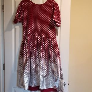 Lularoe elegant Amelia dress size 3XL